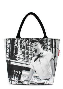 Летняя пляжная сумка с принтом DOLCE VITA Rome