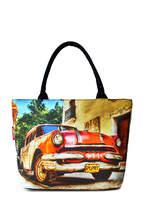 Летняя пляжная сумка с принтом Journey Old CAR