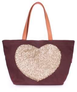 Летняя пляжная сумка Pool Lovetote brown