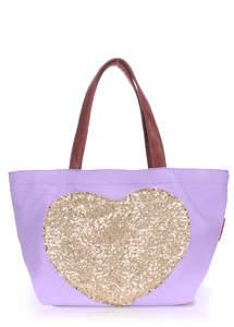 Летняя пляжная сумка Pool Lovetote lilac