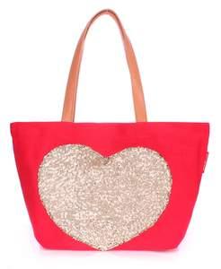 Летняя пляжная сумка Pool Lovetote red