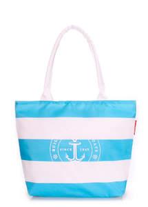 Женская пляжная сумка Pool MARINE aqua