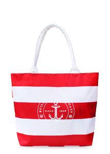 Женская пляжная сумка MARINE Red