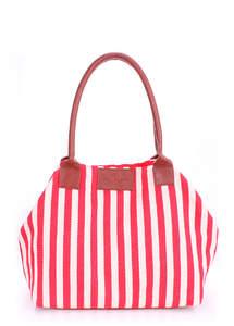 Пляжная сумка морская тематика Pool Navy red