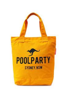 Пляжная летняя сумка из хлопка Pool1 yellow