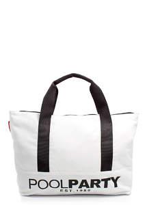 Тканевая спортивная сумка УНИСЕКС pool12 white