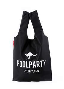 Тканевая сумка-майка унисекс pool20 Black