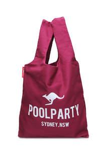 Тканевая сумка-майка унисекс pool20 Bordo