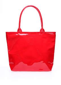 Женская лаковая сумка HARD CANDY красная