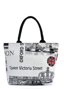 Пляжная летняя сумка JACQUARD London