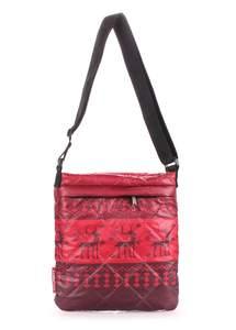 Стеганая сумка на плечо pool74 red