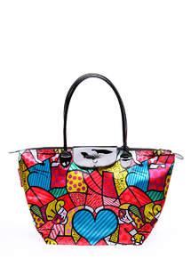 Женская сумка полиэстер BLOSSOM  pool80-1 Red Heart