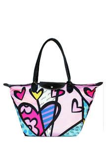 Женская сумка полиэстер BLOSSOM pool80-8 Pink Heart