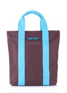 Молодежная летняя сумка pool81 Brown-blue