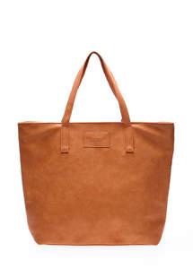 Женская кожзам сумка pool88 Beige PU