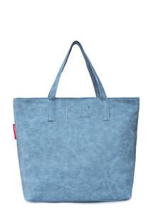Женская кожзам сумка pool88 Grey PU
