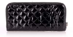 Лаковый женский кошелек blacklaq-wallet