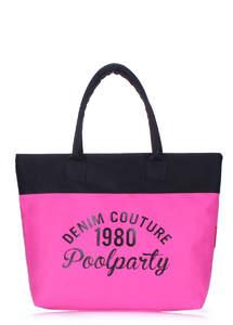 Тканевая сумка Paradise pink-black