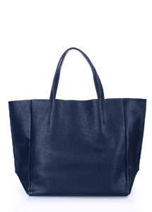 Женская кожаная сумка SOHO darkblue