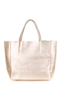 Женская кожаная сумка SOHO gold