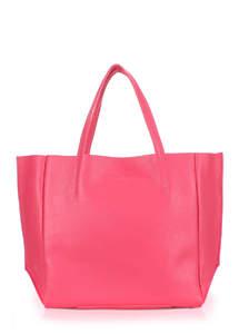 Женская кожаная сумка SOHO pink