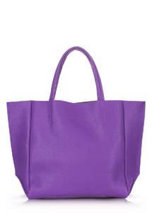 Женская кожаная сумка SOHO violet