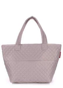Женская стеганая сумка Broadway fullgrey