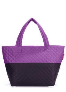Женская дутая сумка Broadway violet