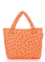 Женская дутая сумка pp1 DUCKS orange