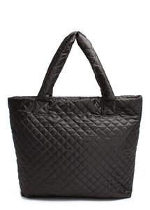 Женская стеганая сумка pp1-eco-black