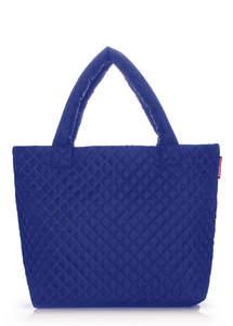 Женская стеганая сумка pp1 eco brightblue