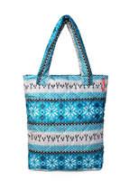 Стеганая сумка со скандинавским орнаментом pp10 Blue