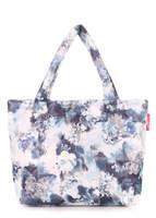Стеганая дутая сумка pp4 Grey Frostwork