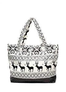 Женская стеганая сумка pp4-oleni