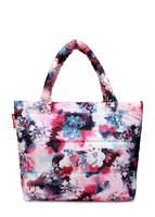 Стеганая дутая сумка pp4 Pink Frostwork