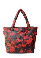 Стеганая дутая сумка pp4 Red Leaves