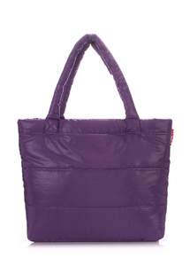 Женская дутая сумка pp4 violet