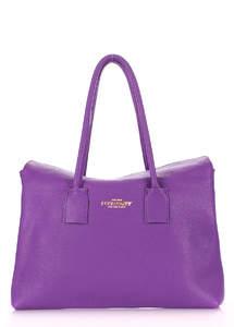 Кожаная сумка на плечо Sense Violet