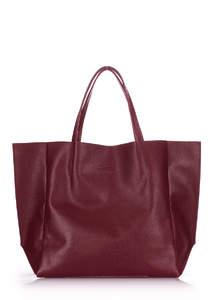 Женская кожаная сумка SOHO marsala