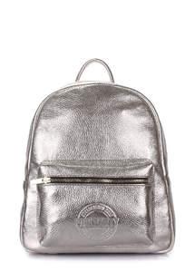 Кожаный рюкзак xs-leather-silver
